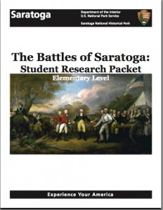 Battle of Saratoga Packet