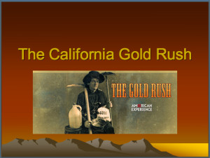Gold Rush Powerpoint
