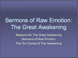 Great Awakening Pres
