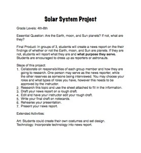 solar system report template - photo #14